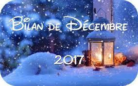 Bilan de decembre 2018