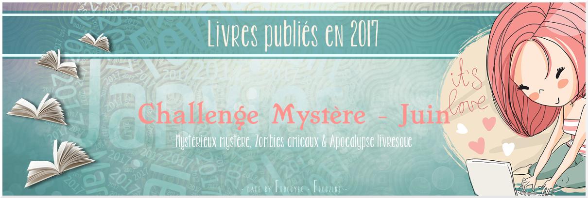 Challenge mystere juin